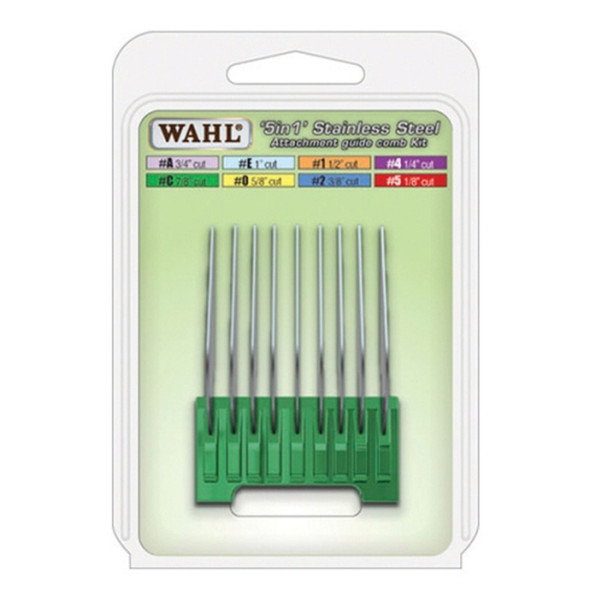 Wahl 5 in 1 Stainless Steel Attachment Comb #C