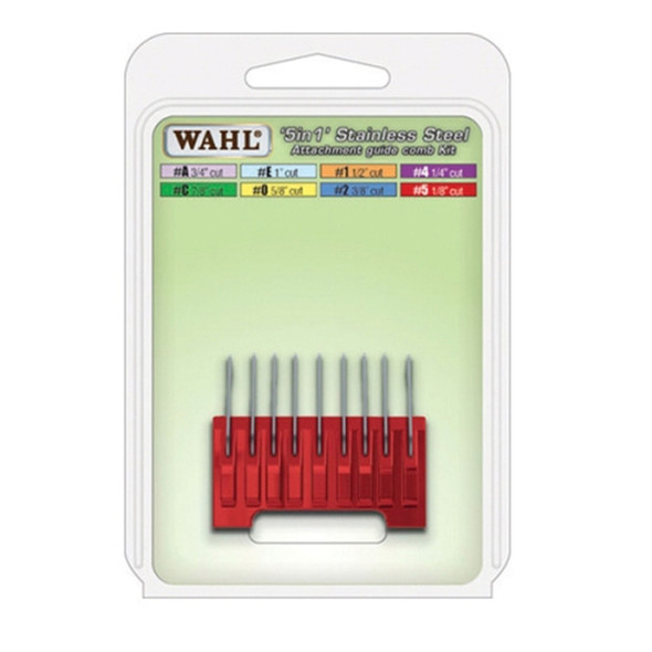 Wahl 5 in 1 Stainless Steel Attachment Comb #A