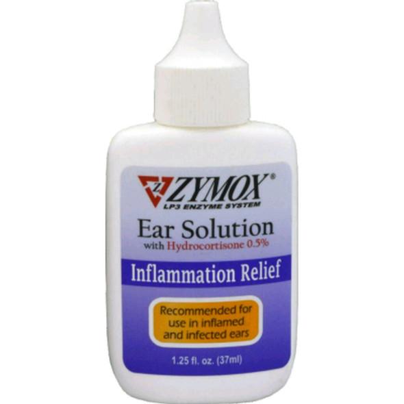 Zymox Ear Solution .5% Hydrocortisone