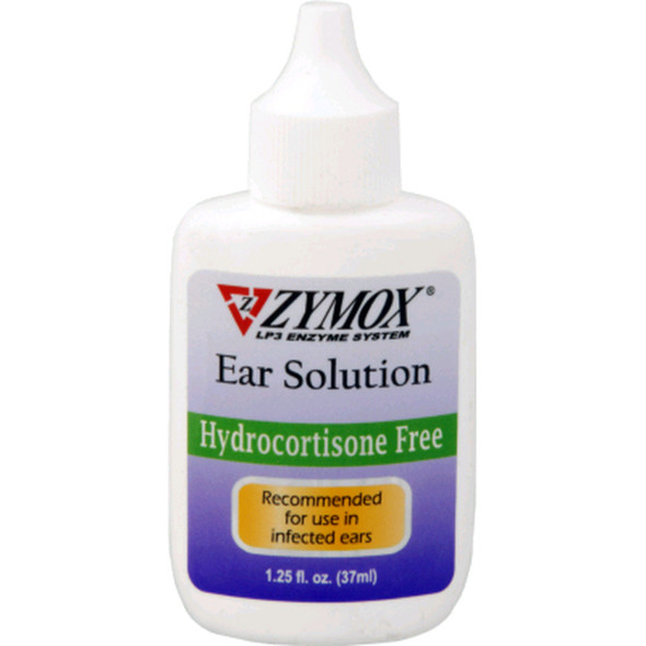 Zymox Ear Solution Without Hydrocortisone