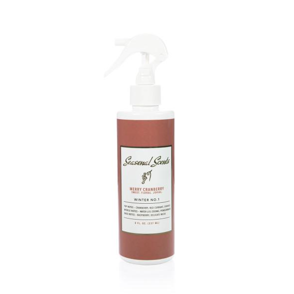 Seasonal Scents Merry Cranberry Fragrance Mist - 8 oz