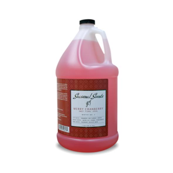 Seasonal Scents Merry Cranberry Shampoo Gallon