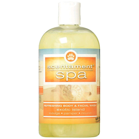 Best Shot Scentament Spa Exotic Island Body & Face Wash, 16 oz