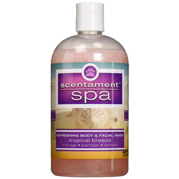 Best Shot Scentament Spa Tropical Breeze Body & Face Wash, 16 oz