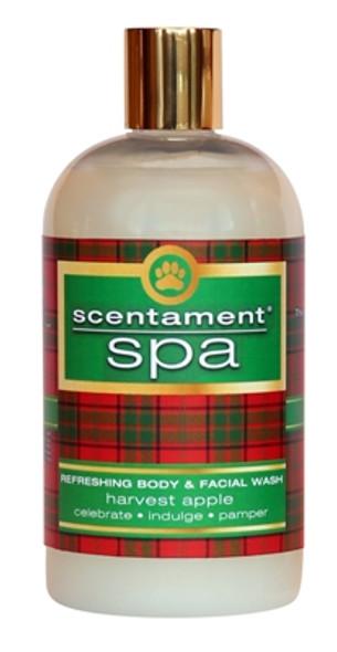 Best Shot Scentament Spa Harvest Apple Body & Face Wash, 16 oz