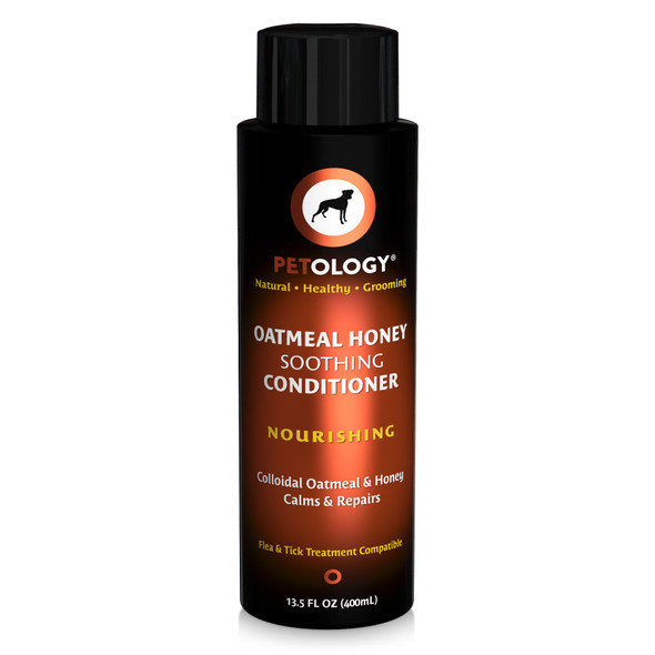 Petology Oatmeal Honey Soothing Conditioner, 13.5 oz