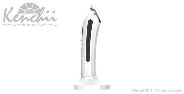Kenchii Flash Digital Cordless Clipper, White