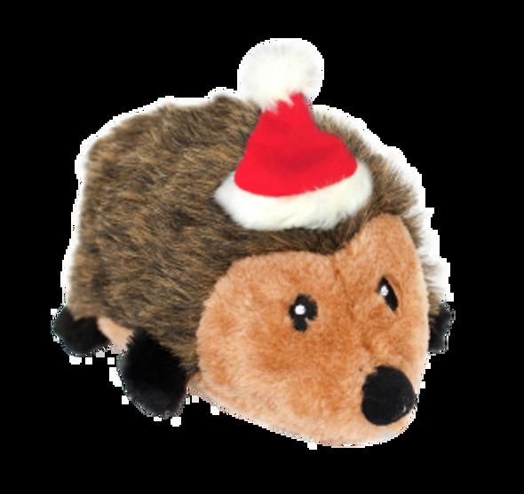 Zippy Paws Holiday Hedgehog Plus Toy