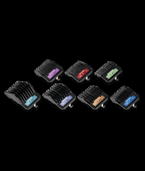 Andis 7 Piece Premium AG Clip Comb Set