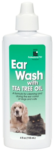PPP Ear Wash With Tea Tree Oil 4 oz