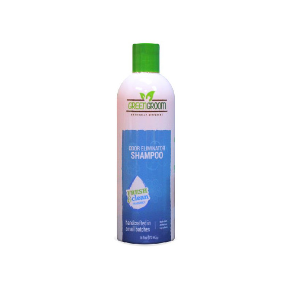 Green Groom Odor Eliminator Shampoo 16 oz