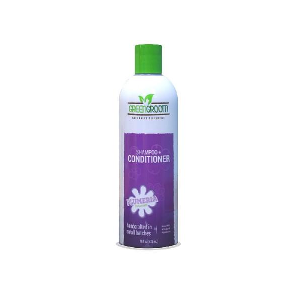 Green Groom Shampoo + Conditioner 16 oz