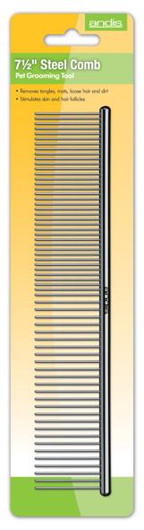 """Andis Premium 7 1/2"""" Steel Comb"""