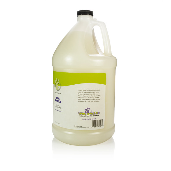Wag N Wash In a Pickle Fragrance Gallon Side