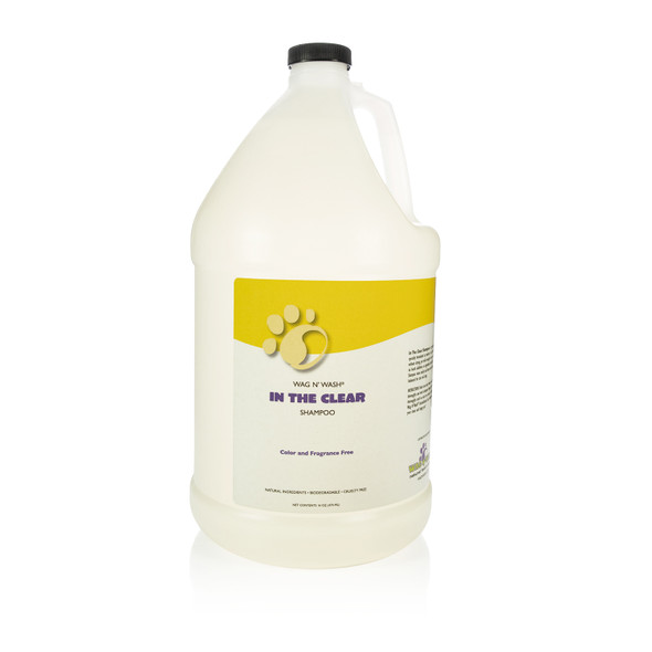 Wag N Wash In the Clear Gallon