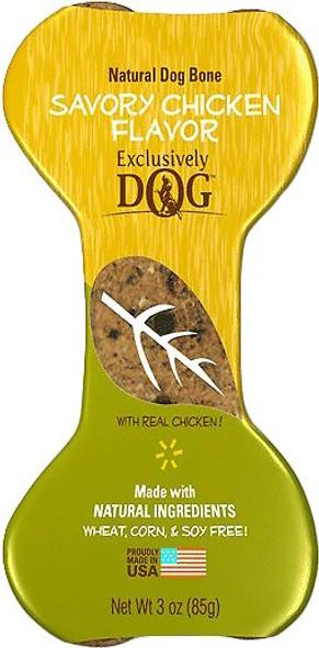 Chicken flavored dog treat