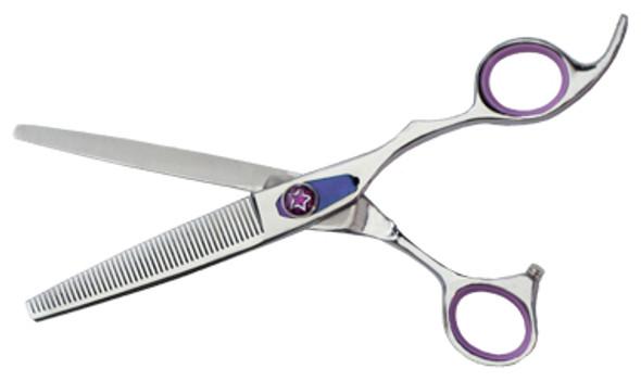 "Monk Purple 8.25"" 21-Tooth Blending Shear"