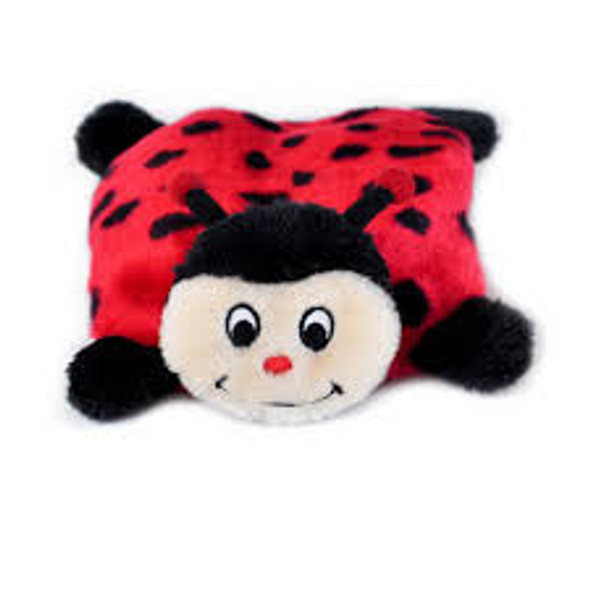 Zippy Paws Squeakie Pad Lady Bug