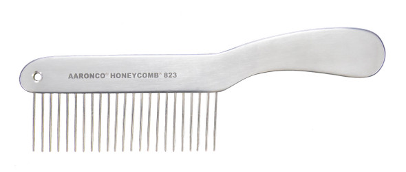 "Aaronco Aluminum Honeycomb 8"" ""Poodle"" Coarse Teeth"