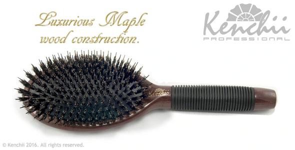 Kenchii Boar and Nylon Bristle Brush Large