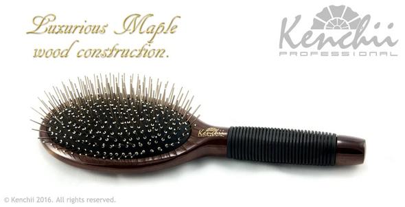 Kenchii Metal Pin Oval Brush Large