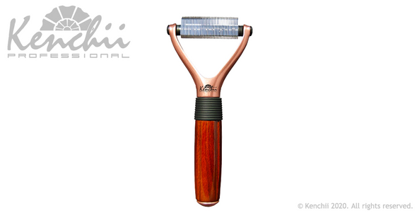 Kenchii Luxury 40-Teeth Pet Rake
