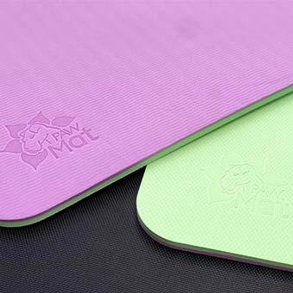 Green and Purple PawMat