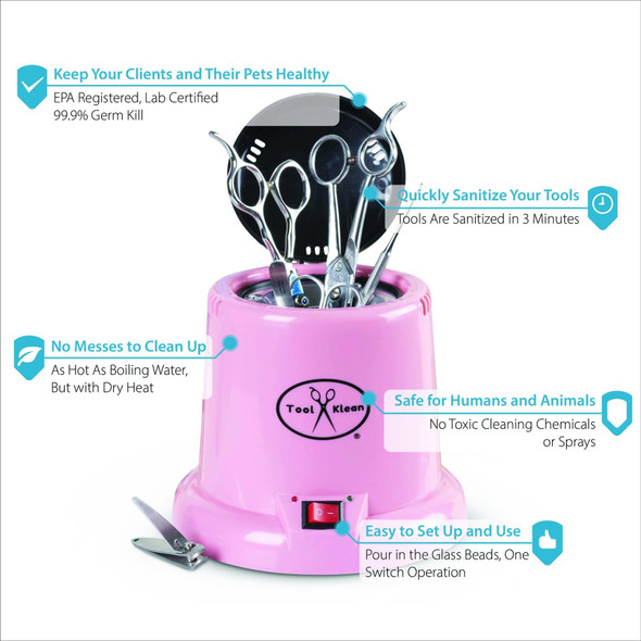 Tool Klean Hot Cup Tool Sanitizer - Pink