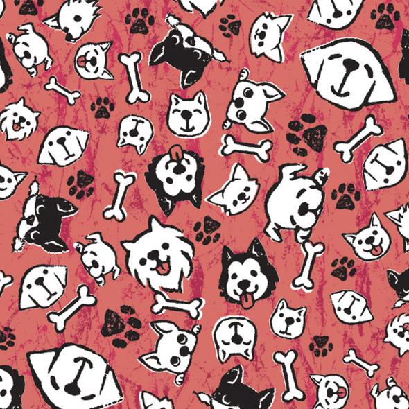 Bandanna My Pups Red