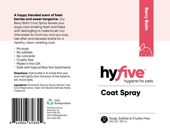 Scenthound-Hyfive Berry Balm Coat Spray 8oz