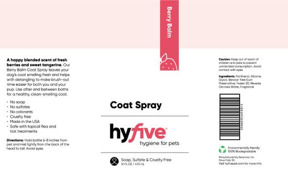 Scenthound-Hyfive Berry Balm Coat Spray 16oz