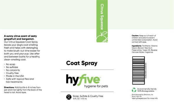 Scenthound-Hyfive Citrus Squeeze Coat Spray 16oz