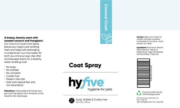 Scenthound-Hyfive Coconut Crush Coat Spray 16oz