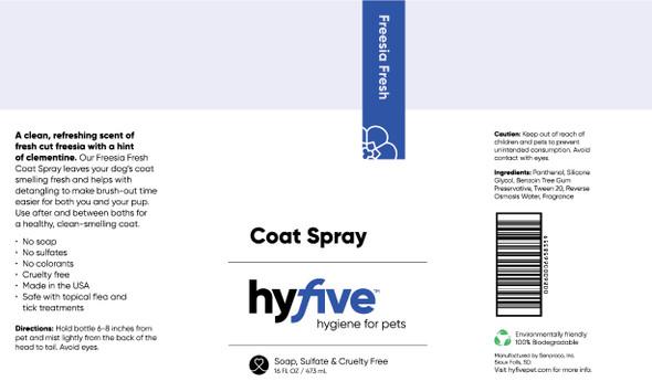 Scenthound-Hyfive Freesia Fresh Coat Spray 16oz