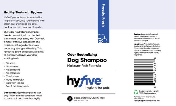 Scenthound-Hyfive Odor Neutralizing Dog Shampoo 16oz