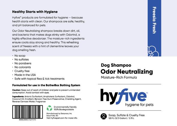 Scenthound-Hyfive Odor Neutralizing Dog Shampoo Gallon