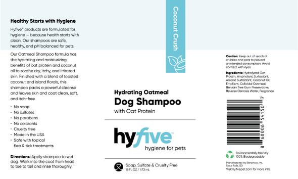 Scenthound-Hyfive Hydrating Oatmeal Dog Shampoo 16oz