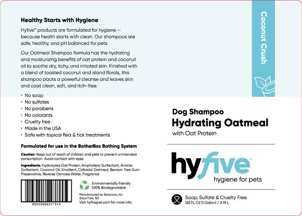 Scenthound-Hyfive Hydrating Oatmeal Dog Shampoo Gallon