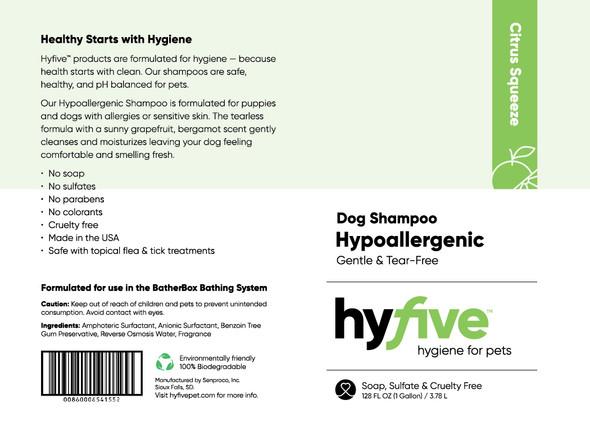 Scenthound-Hyfive Hypoallergenic Dog Shampoo Gallon