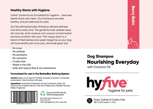 Scenthound-Hyfive Nourishing Everyday Dog Shampoo Gallon