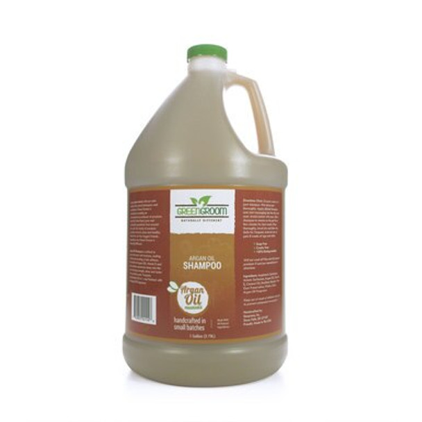 Green Groom Argan Oil Dog Shampoo, Gallon