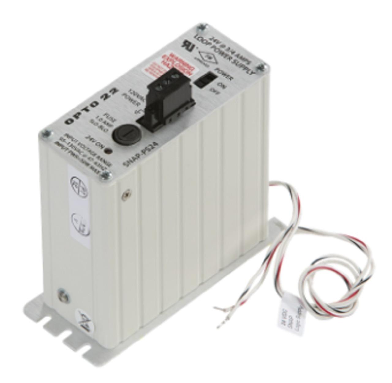 Opto 22 SNAP-PS24 SNAP Power Supply, 110 VAC to 24 VDC