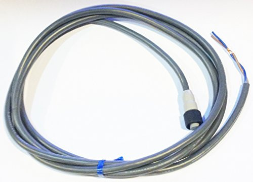 Omron Y92E-P1D2H2-101 4-Wire Connector Cordset