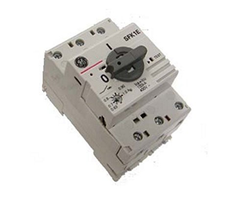 GE SFK1E 120204 Manual Motor Starter, 0.63 to 1.0 Amp Current Range, 3 Pole, 600