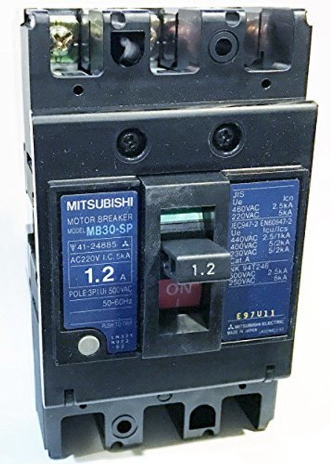 Mitsubishi Electric Corp MB30-SP 1.2A Motor Protection Circuit Breaker, MB Frame