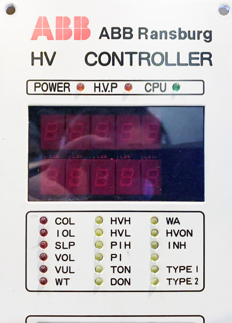 ABB Ransburg RHC600 HV High Voltage Controller