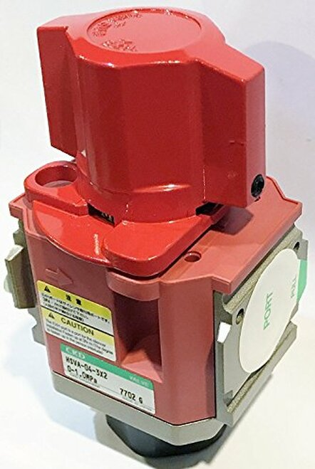 CKD Corp HSVA-06-3X2 HSV Manual Air Pneumatic Switching Valve With Lockout