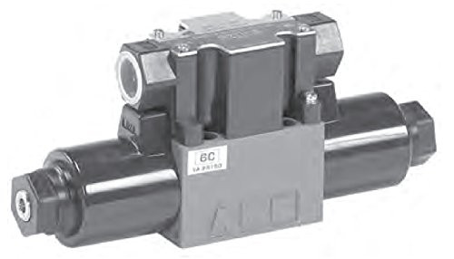 Tokimec Tokyo Keiki DG4VC-3-6A-M-PS2-H-7-54 Solenoid Operated Control Valve