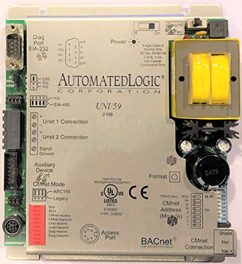 ALC Automated Logic Corp UNI/59 2MB BACnet Network Interface Control Module