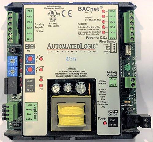 ALC Automated Logic U551 BACnet Heat Pump & Fan Coil Control, HVAC Control Mod